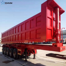 Heavy Duty 3 Axle Tipping Dumper Semi Trailer