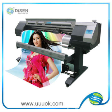 High speed 1.6M solvent printer