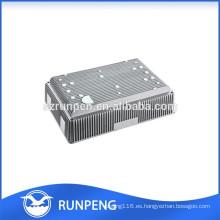 Producto de disipador de calor de precisión de fundición a presión