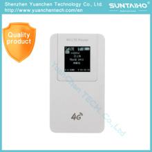 Mobile 3G / 4G WiFi Router mit SIM-Kartensteckplatz Unterstützung LTE / WCDMA HSPA / GSM
