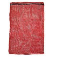 Raschel Net Bag para empacar troncos y leña