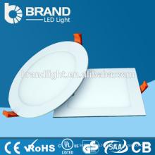 Alto brillo 100lm / w AC85-265V panel ultra delgado de la luz del LED, CE RoHS