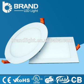 AC85-265V SMD2835 ultra léger lampe de plafond 230v conduit lampe de panneau ronde led 6w