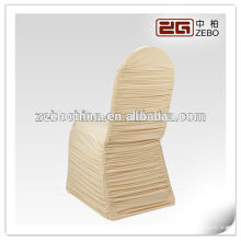 Design à la mode Custom Colorful Wholesale Ruffle Spandex Chair Cover