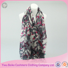 Hot selling cashmere scarf fashion for ladies
