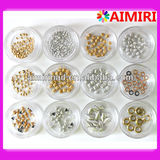 3D nail art metal studs for nail jewerly decoration nail use accessories