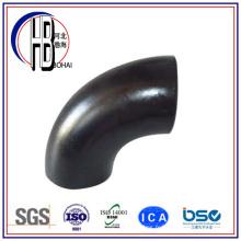 Bw 90 degrés en acier au carbone long rayon coude avec le meilleur prix