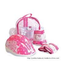 Kids Helmet with Elbow & Pad (YV -MV5-2 SET)
