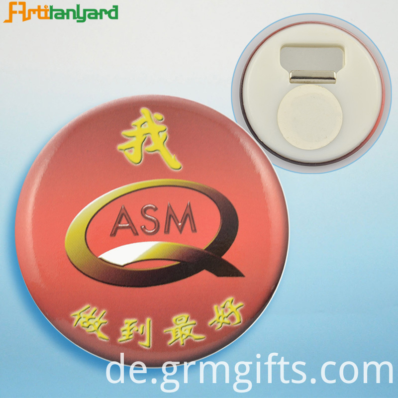 Plastic Button Badge