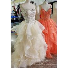 2017 романтический дизайн платье выпускного вечера, вечернее gownED527