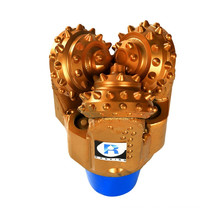 Used for soft to hard formation cone roller api spec 7 tricone drill bit made in china