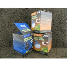 Impressão de caixa de papelão ondulado para embalagens leves