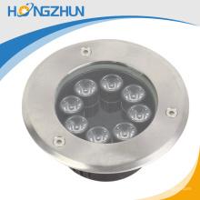 El diseño elegante CE ROHS de la alta calidad aprobó 9W llevó la luz subterráneo