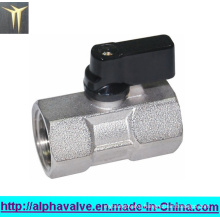 Forged Female Full Bore Mini Ball Valve with Butterfly Handle