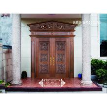 Coppman Porta de porta da porta de cobre feito à mão
