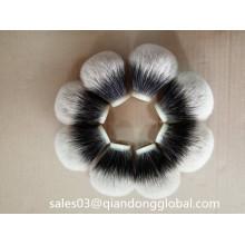 Bulb Shape Two Band Badger Hair Knots