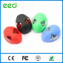 Factory Price Silicone Bike Light For Bicycle Seat