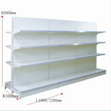 Pulverbeschichtungs-große Kapazitäts-Speicher-Regal durch Yuanda-Supermarkt-Ausrüstungen