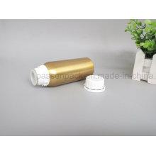 Goldene Aluminium-Kosmetikflasche für ätherisches Ölverpackung (PPC-AEOB-022)