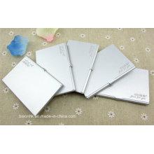 Alumínio Cartão De Visita, Design De Moda Alumínio Cartão De Visita Titular