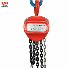 Grua de aço manual dos blocos chain de Vohoboo 1ton 2ton 5ton 10ton 30ton