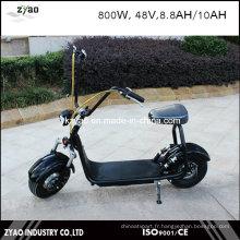 Motocyclette électrique à 2 roues avec feux à DEL Coco City Scooter électrique