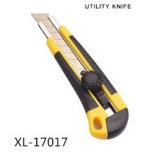 18mm alta qualidade papel de parede a faca de corte, faca de utilitário de plástico