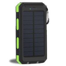 Bärbar Solar Battery Charger Externt batteri Backup