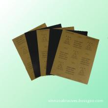"""Three Star"" S/C Waterproof Abrasive Paper (kraft paper backing)"