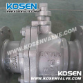 Cast Steel Floating Ball Valve with Lever Operation
