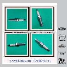 Piezas genuinas Iraurita Bujía y bujía de encendido del motor 12290-R48-H0 / ILZKR78-11S