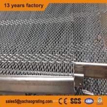 Treillis métallique serti en acier inoxydable pour filtre