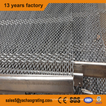 Stainless steel crimped wire mesh for filter
