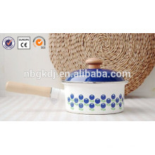 0.8L reinweiß Beschichtung Decal Emaille Innentopf für Reiskocher