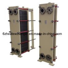 Пластинчатый теплообменник высокого качества для общего отопления и охлаждения (равно M6 / M10)