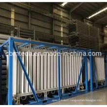 Aluminium Ambient Air Cryogenic Vaporizers From Factory