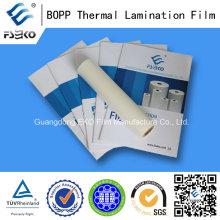 Película termoplástica BOPP con pegamento EVA