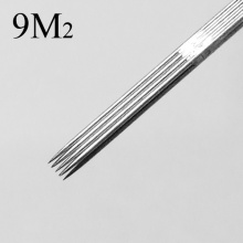 Steel Sterile Double Rack Tattoo Needles M2