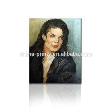 Обои Майкл Джексон Картина маслом для Dropship