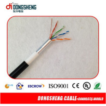 Поставка кабеля Dongsheng Fctory FTP Кабель LAN Cat5e LAN