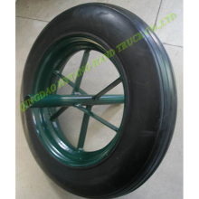 solid wheel Size : 14*3.5""