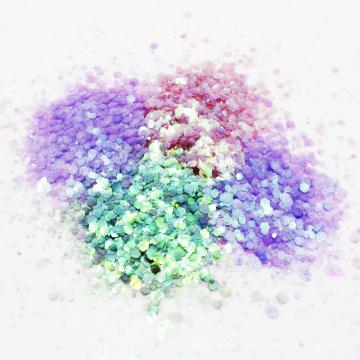 Cosméticos Tamaños Mixtos Glitter Flakes Maquillaje Mixto Polvo Brillo Brillo