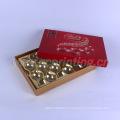 Изготовленный на заказ бумажная коробка подарка шоколада упаковки еды