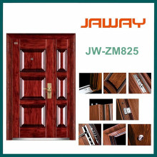 2016 Hot Sale Main Entrance Exterior Single Leaf Steel Door From China