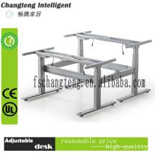 Elektrischer höhenverstellbarer Arbeitstisch für zwei Personen, hergestellt in China & Büromöbel mit Hebesystem