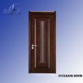 Porte intérieure en bois sculpté
