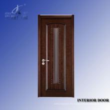 Puerta interior madera tallada