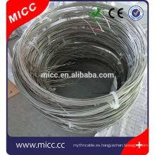 cable termopar revestido de metal
