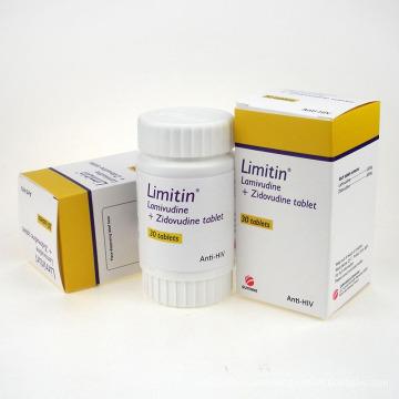 Anti-HIV Lamivudina 3tc&Zidovudinum Tablet