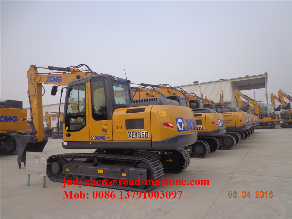 Xcmg Xe250c Excavator 1m3 Bucket Capacity